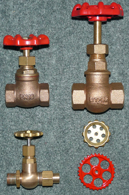 types of steam valves
